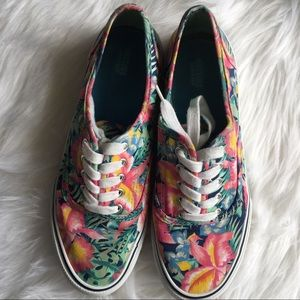 Mossimo Tropical Floral Sneakers Size 9